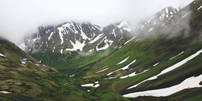 Crow Pass trail Alaska