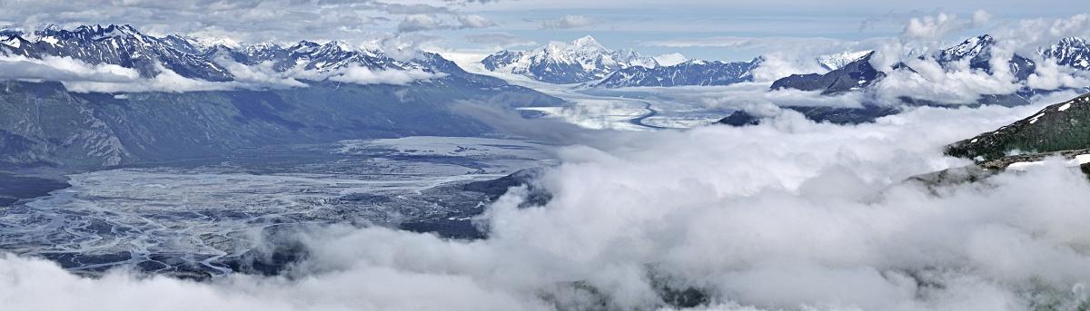 knik glacier pioneer ridge hike