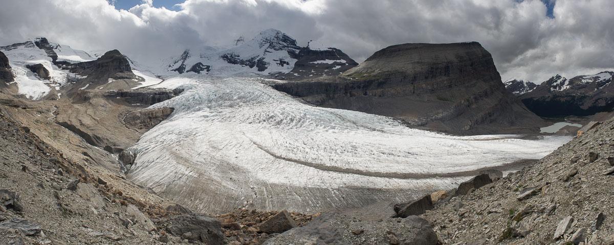 Snowbird pass Mount Robson park
