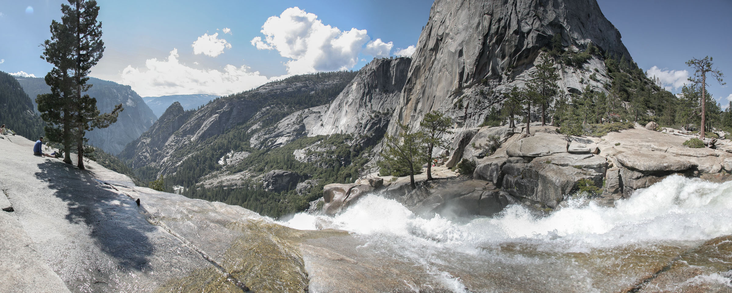 Above Nevada Falls, Yosemite National Park