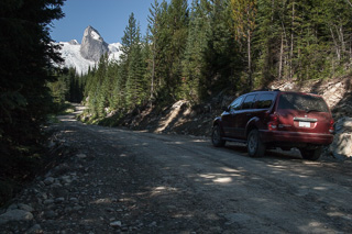 Road to the Bugaboos