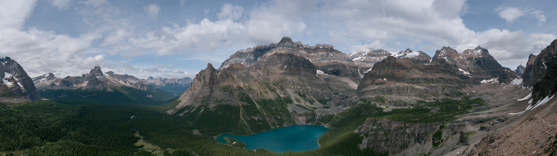Lake O'Hara from All Souls Prospect