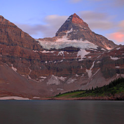 Mount Assiniboine from Lake Magog
