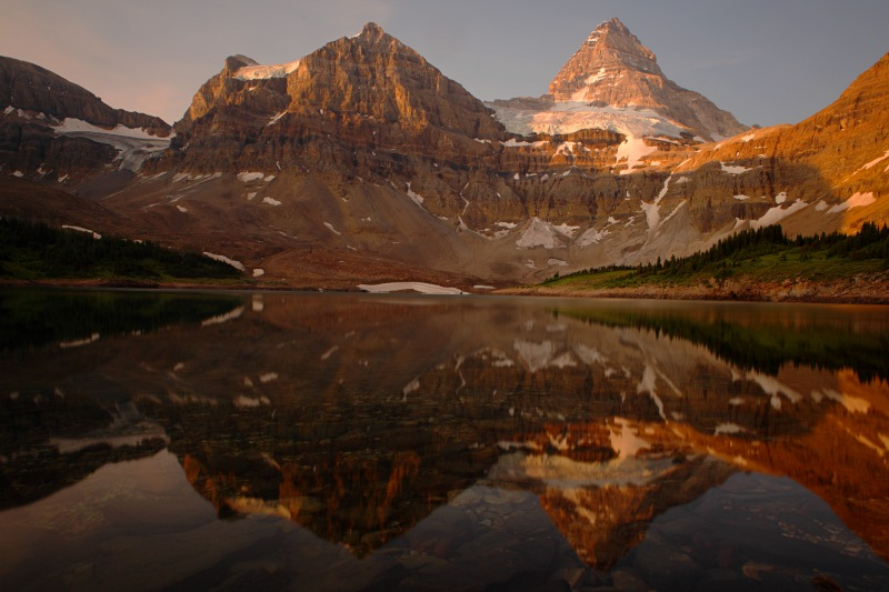 Mount Assiniboine dawn