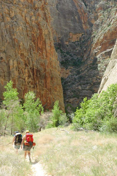 backpacking upper escalante canyon