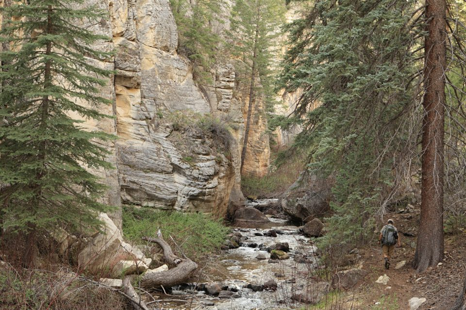 pine creek box canyon utah