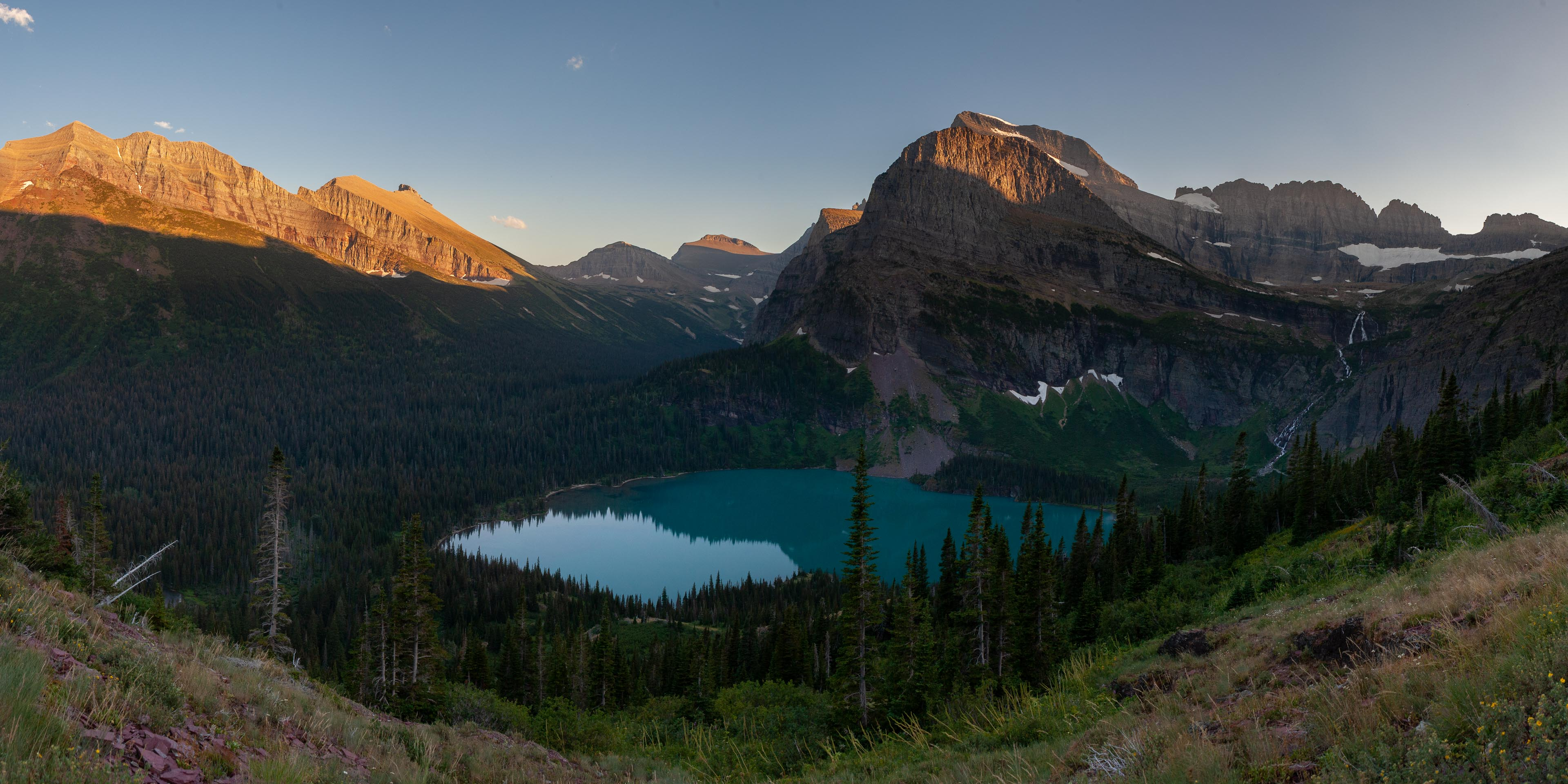 Trail to Upper Grinnell Lake