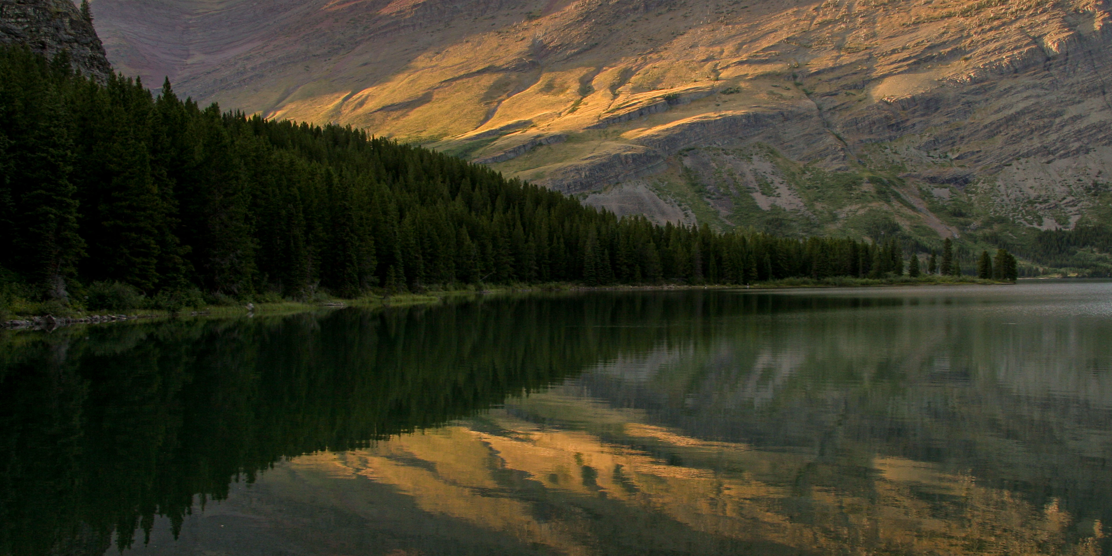 Glacier National Park Swiftcurrent Lake