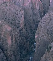 black canyon chasm view
