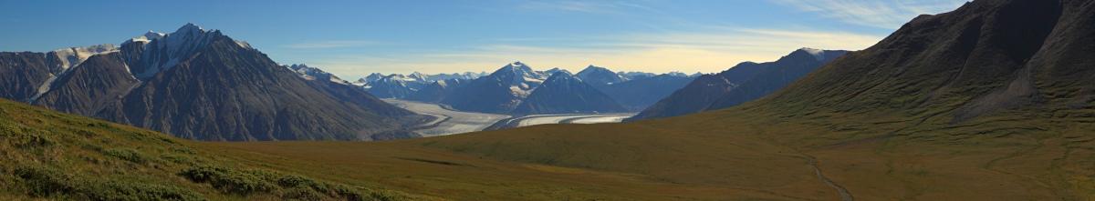 Kluane's Kaskawulsh glacier