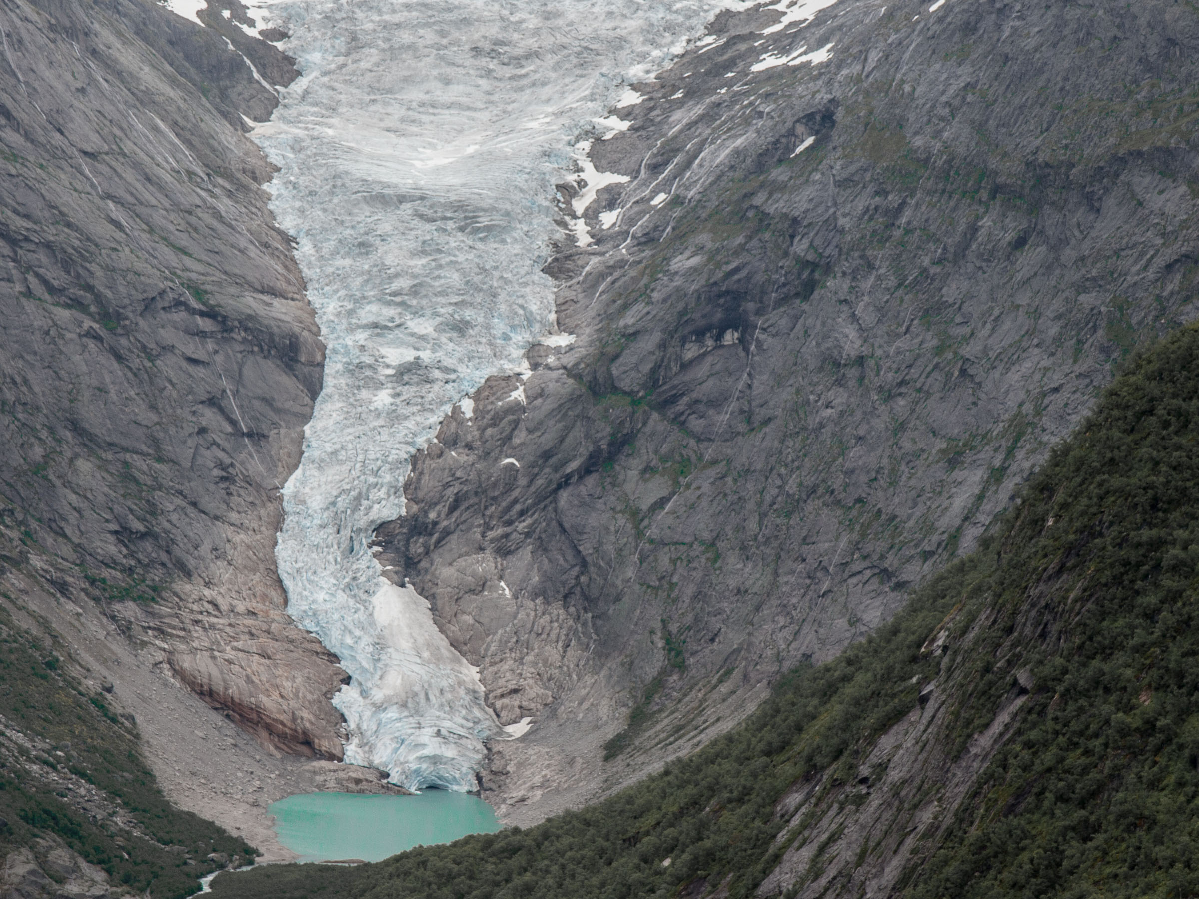 Day Hikes In Jostedalsbreen National Park Norway - Norway glacier map
