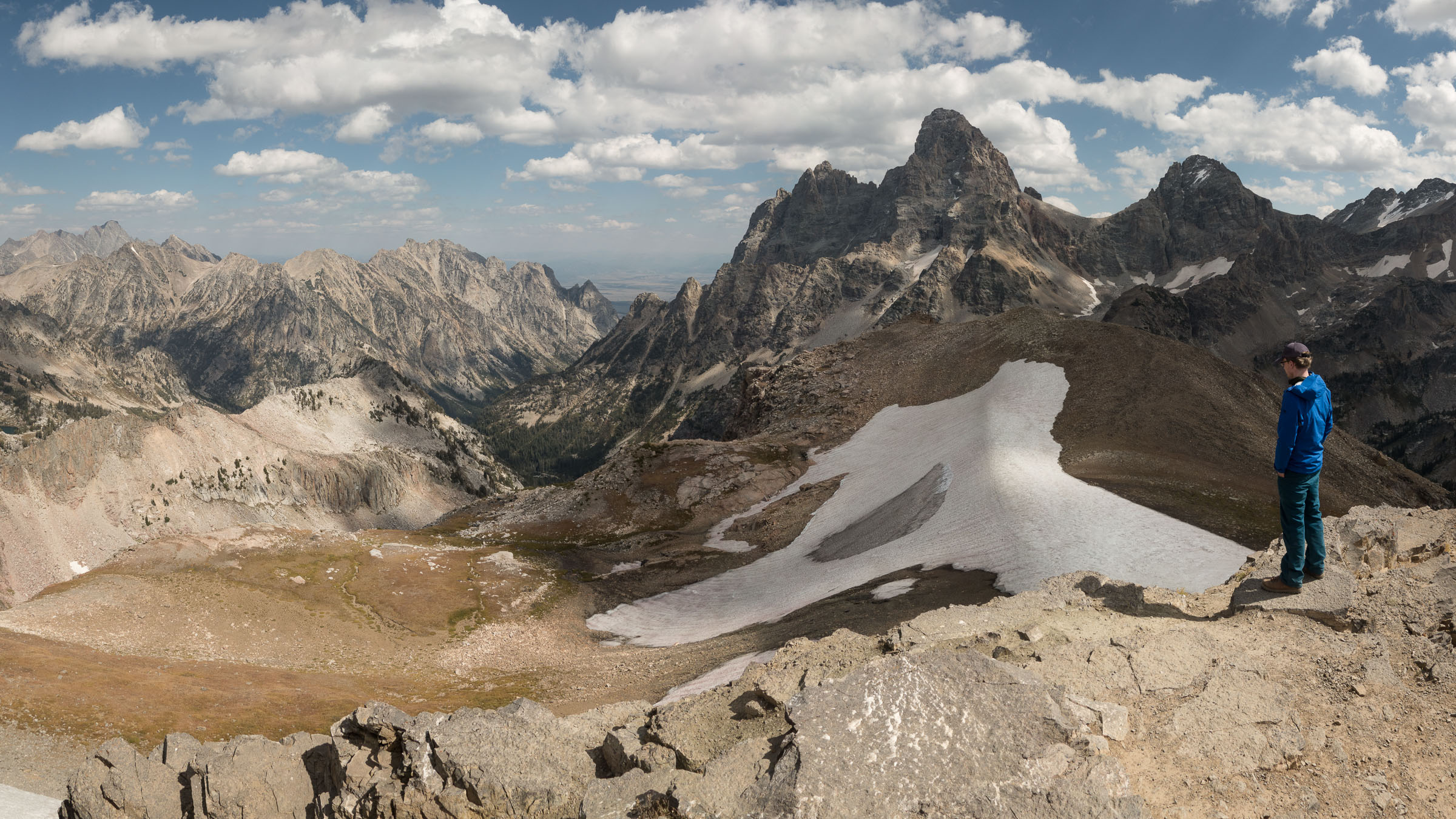Tetons from Table Mountain