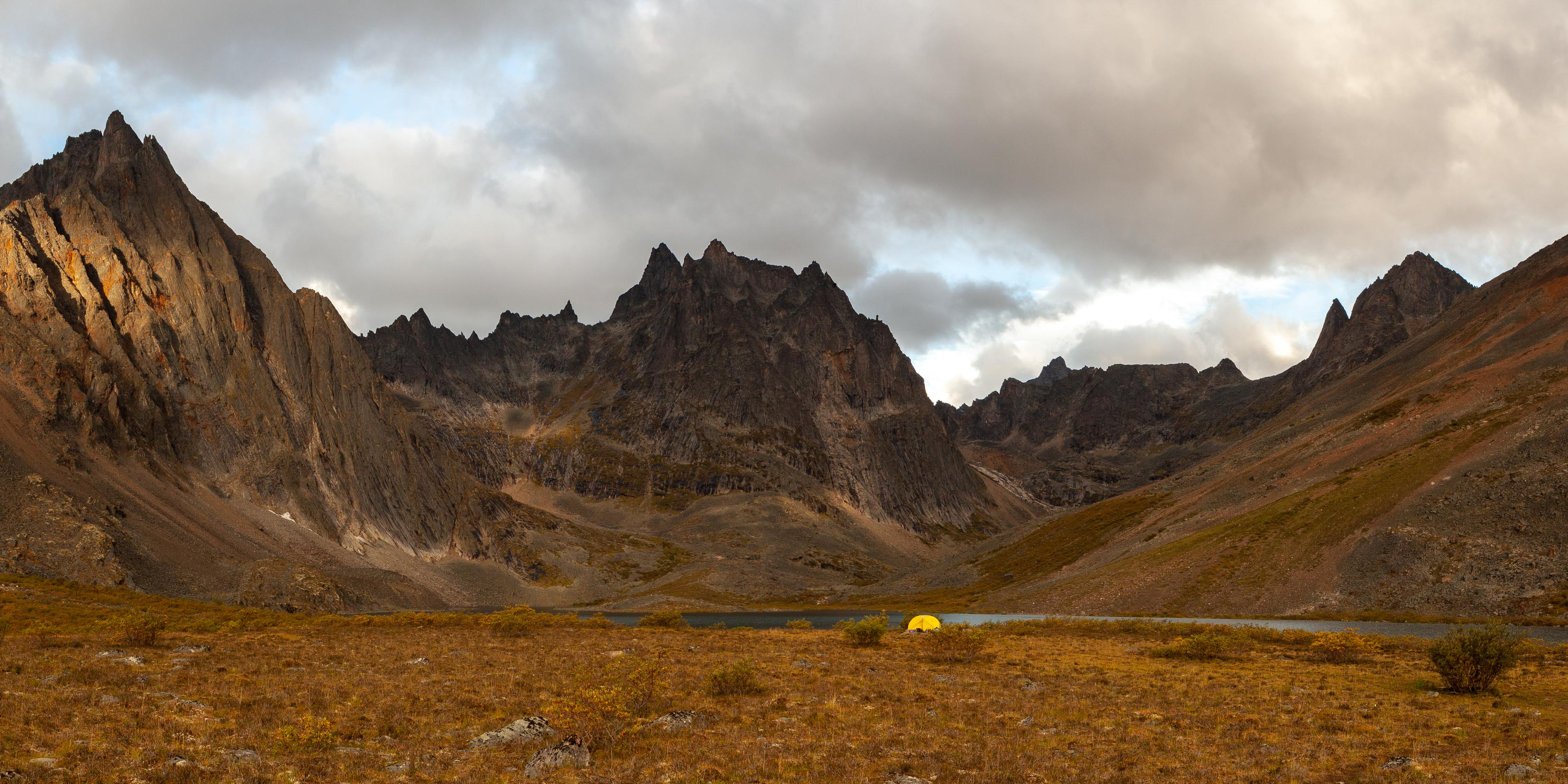Grizzly Lake campsite, Tombstone Territorial park