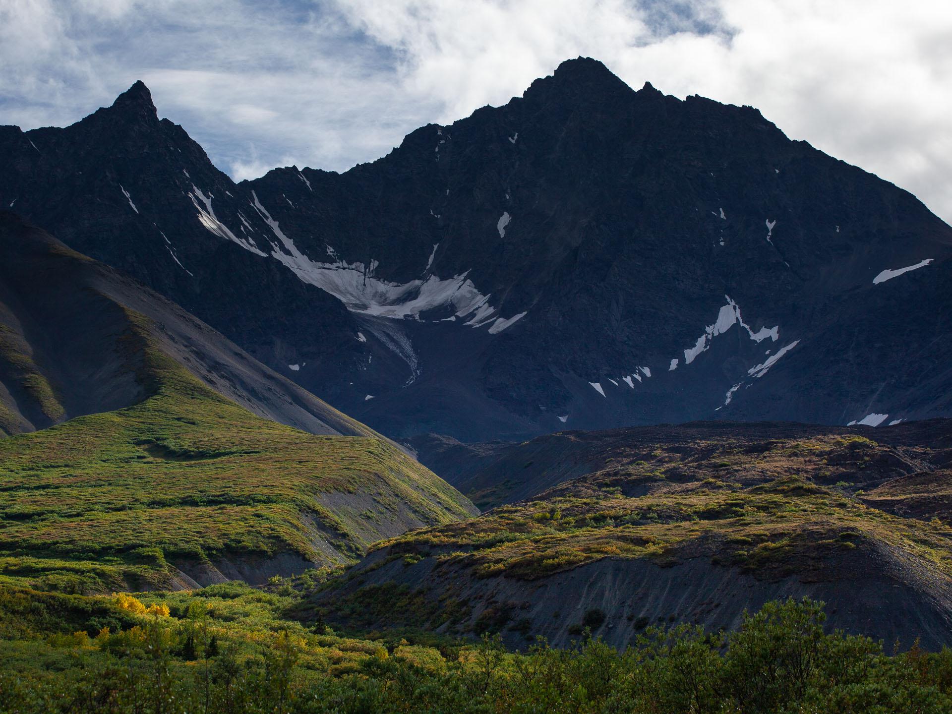 mountains in Kluane National Park