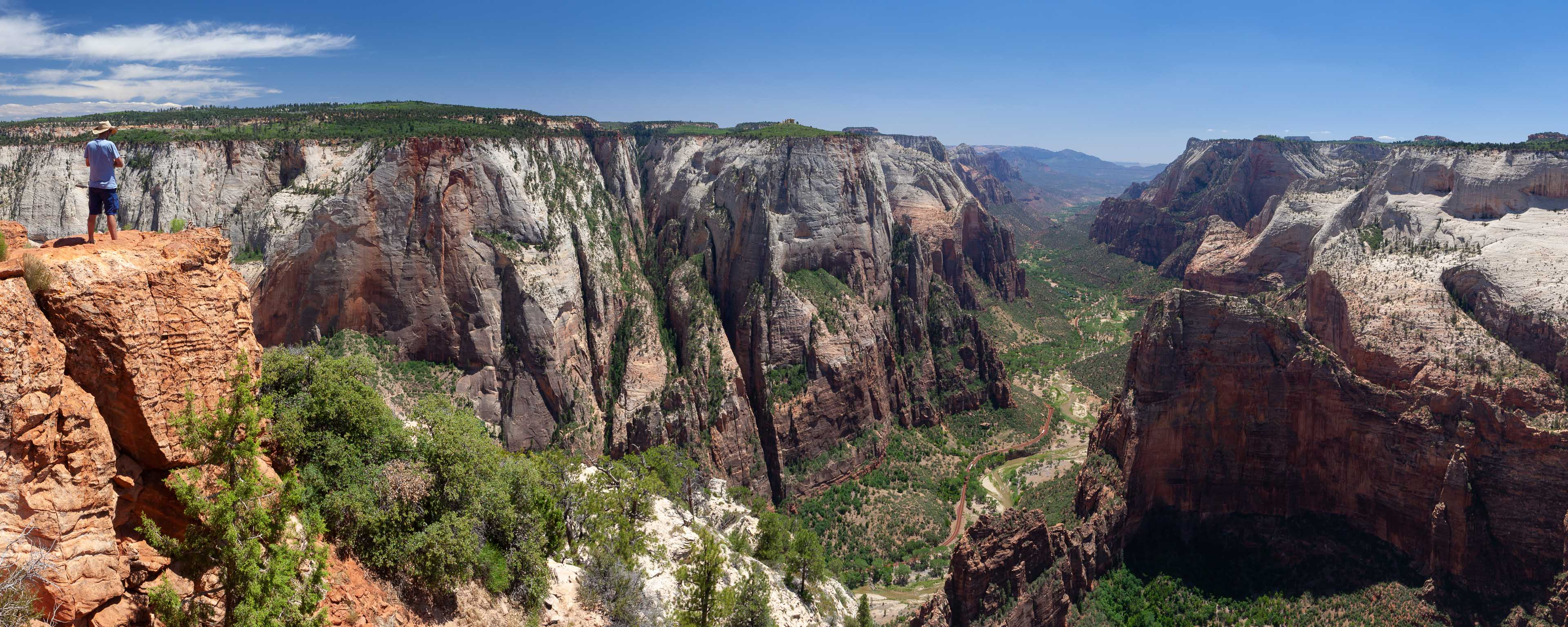 Zion Canyon from Observation Point