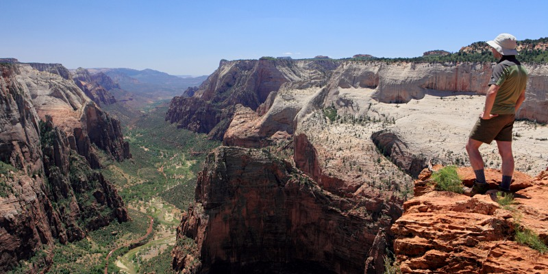 observation point Zion